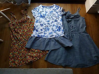 Girls Next Summer Dresses & Playsuits Bundle Age 8-9 Years Ex Con