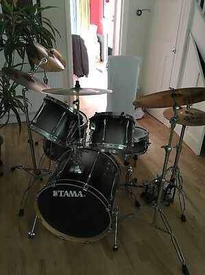 Tama Superstar Drum Kit With Symbols And Hardware