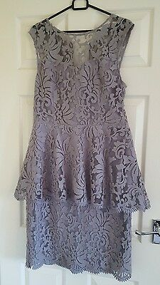 Next Two Piece Ladies Outfit Dress Size 14 Wedding Christening
