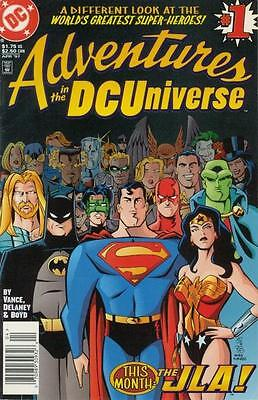 Adventures in the DCUniverse Set of 16 plus 2 Specials