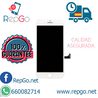 Pantalla Completa Iphone 7 blanca LCD+TOUCH LCD+TACTIL  24 HORAS