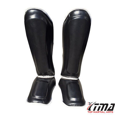 MMA pro-style muay thai kickboxing protective grappling shin guards