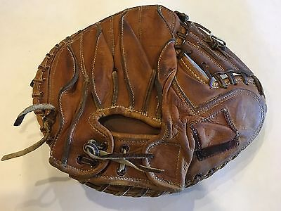 Vintage USA made Nokona Baseball Catchers Mitt Glove Autograph Series Baieh