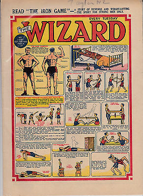 wizard comic golden age1950/52 2 copies post free uk only