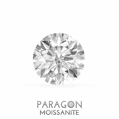 Paragon Moissanite Loose Round Hearts & Arrows Best Diamond + C&C, Alternative