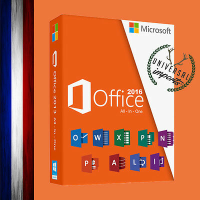 ♦ Microsoft Office 2016 Professionel Plus Licence 1 PC MS Office 2016 Pro Plus ♦