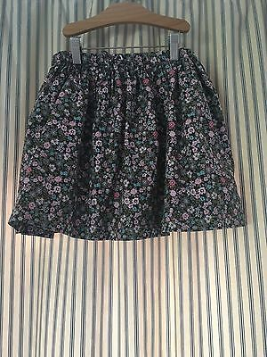 Girls Next floral cotton skirt age 9 years