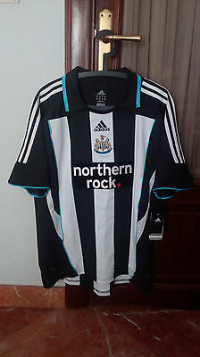 NEWCASTLE UNITED, Official home shirt used in 2007-09 seasons