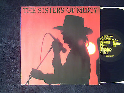 """Sisters Of Mercy """"Live At The Melkway 1984"""" Rare Album"""