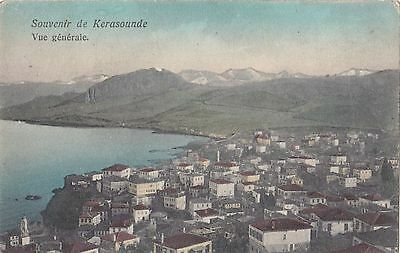 Turkey  1910  Vintage Postcard Of Kerassunde Vue General