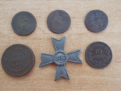 Job Lot Small Collection Of Vintage Coins & Tokens Etc  Lot 2