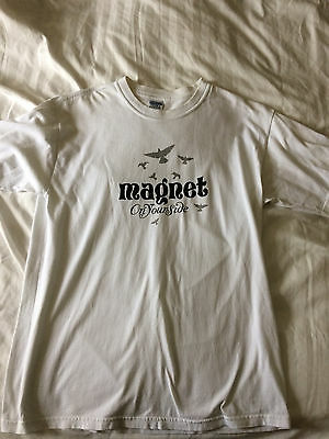 Magnet - On Your Side Promo T-Shirt - Size Large
