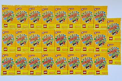 104 LEGO Create The World Trading Cards Sainsbury's 26 Packs Of 4 Bundle Joblot