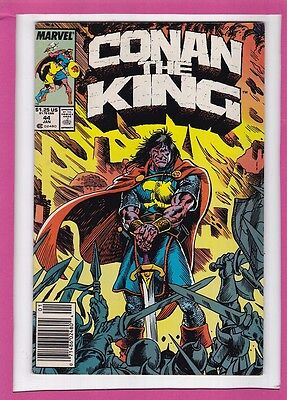 """Conan The King #44_January 1988_Very Fine Minus_""""the Spoils Of Victory""""!"""
