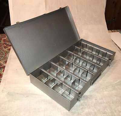 Metal Slide box  Case for 2 x 2 inch 35mm slides with metal tabs