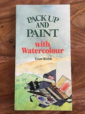 Pack Up and Paint with Water Colour Book