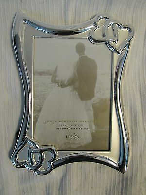 Lenox, Wedding Promise 5 X 7 silver plated frame