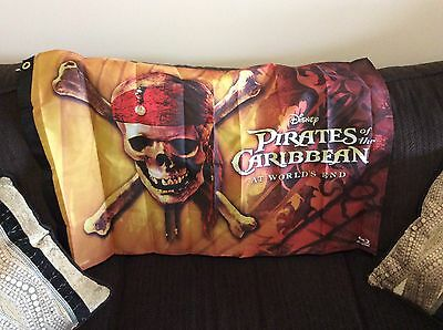 """Pirates Of The Caribbean """"At World's End"""" Flag, New"""