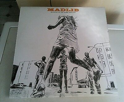 Madlib 'Blunted in the Bomb Shelter' 2 x vinyl album compilation