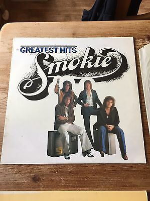 "Smokie -  Greatest Hits 12"" vinyl LP album"