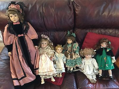 Collection Of Porcelain Dolls Including Alberon, Andrew Schofield Collection
