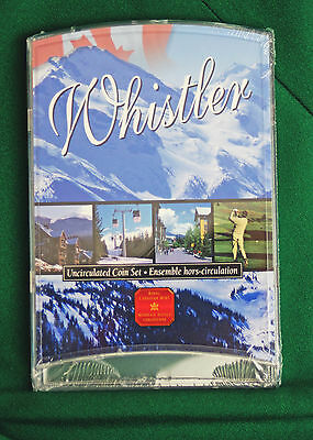 2001P Canada 7 coin Oh! Canada Uncirculated Whistler version of set A1 condition