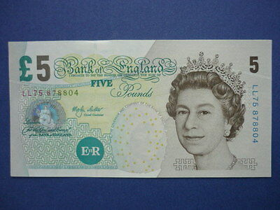 Bank of England Five Pound Replacement Note  B.396