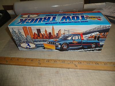 SUNOCO 1996 TOW Truck WITH SNOW PLOW Ultra 94 NIB 3rd Of A Series , New
