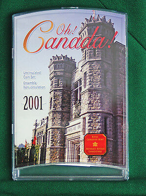 2001P Canada 7 coin Oh! Canada Uncirculated Royal Canadian mint A1 condition