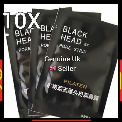 PILATEN Blackhead Remover Black Mask Deep Pore Cleansing Face Peel Off Mask 10X