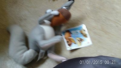 Scrat - Ice Age 2 -  Soft Plush Toy  With Tags