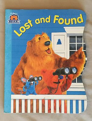 Bear In The Big Blue House, Lost And Found Large Size Board Book, 2000, New