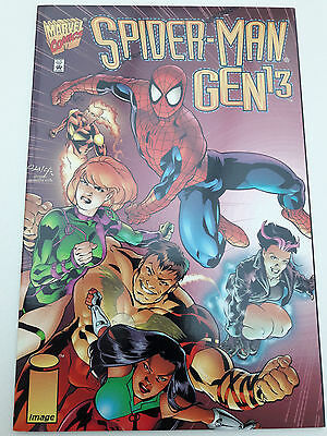 SPIDER-MAN / GEN13 bookshelf one-shot, 1996, NM 9.4, Peter David, Stuart Immonen