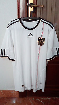 OFFICIAL GERMANY national team, home shirt, used in the 2010-12 seasons