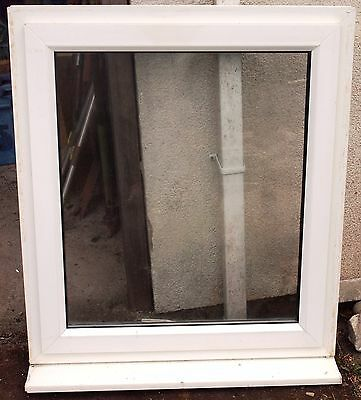 Window, opening, UPVC, white, used