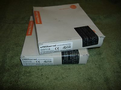 2 ea, IFM, Efector110, GG711S, NEW/Factory Sealed