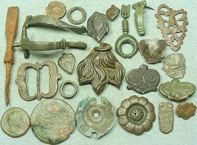Lot Of Misc. Ancient Bronze / Iron Artifacts