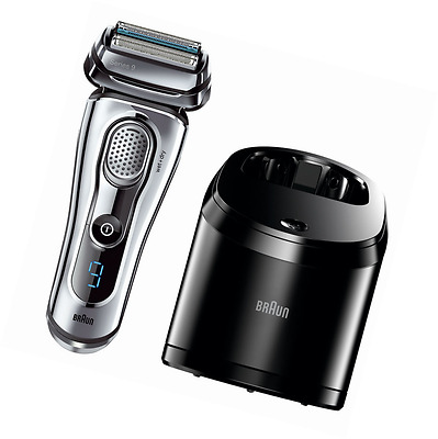 Braun Series 9-9095cc Wet and Dry Shaver with Clean and Renew Charger