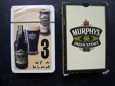 Murphy's Irish Stout Deck Of Sealed Playing Cards.(Sealed=Mint)