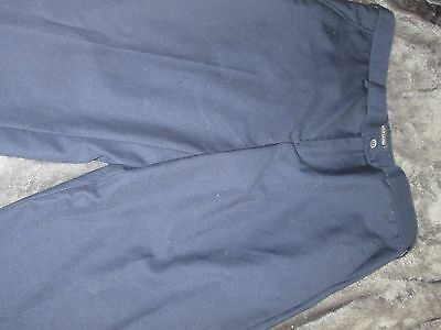 Boys navy smart trousers Age 9 years