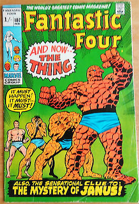 Fantastic Four # 107 - Marvel 1970