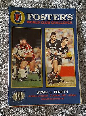 1991 World Club Challenge - Wigan vs. Penrith Panthers