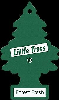 Magic Tree Little Trees Car Home Air Freshener Scent - FOREST FRESH New