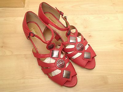 Bnwot Hotter Surabaya Rose Pink Sandals Uk Size 9