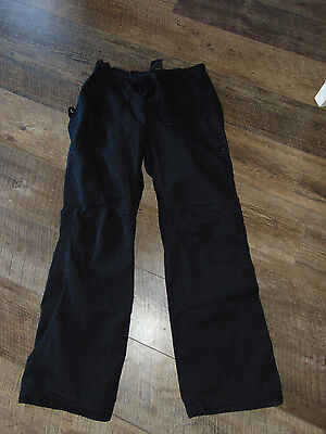 KOI by KATHY PETERSON Women's #701 Black  LINDSEY SCRUB PANTS Size  SMALL