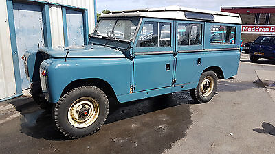 1968 land rover series 2 109 12 seater safari station wagon 6 cylinder very rare