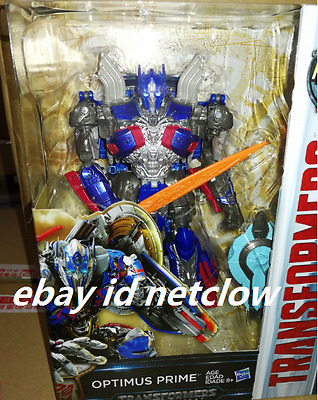 Transformers Hasbro Movie Voyager The Last Knight Optimus Prime in Stock