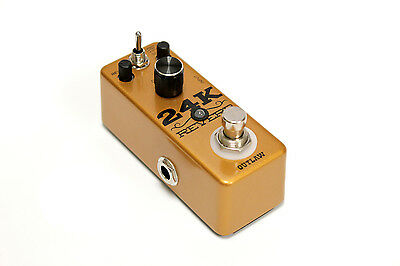 Outlaw 24K Reverb Guitar Effects Pedal
