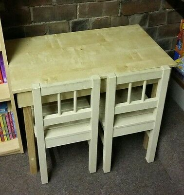 Child's desk/table and chairs