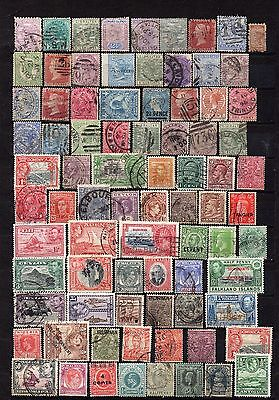 Large British Commonwealth stamp lot